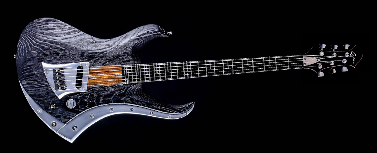 Zodiac baritone guitar | Cyan Guitars
