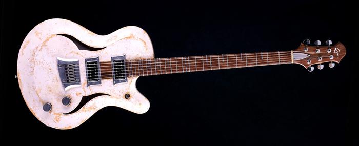 "Breed - 29"" Baritone - Living Colour | Cyan Guitars"