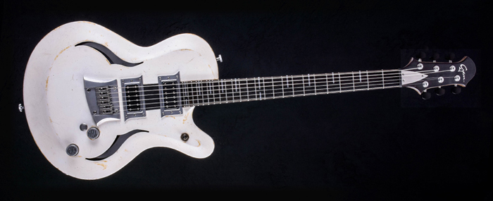 Breed - Players White - Custom made guitar