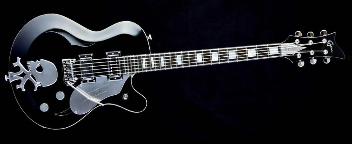 FU - Farin Urlaub signature guitar - Cyan Guitars