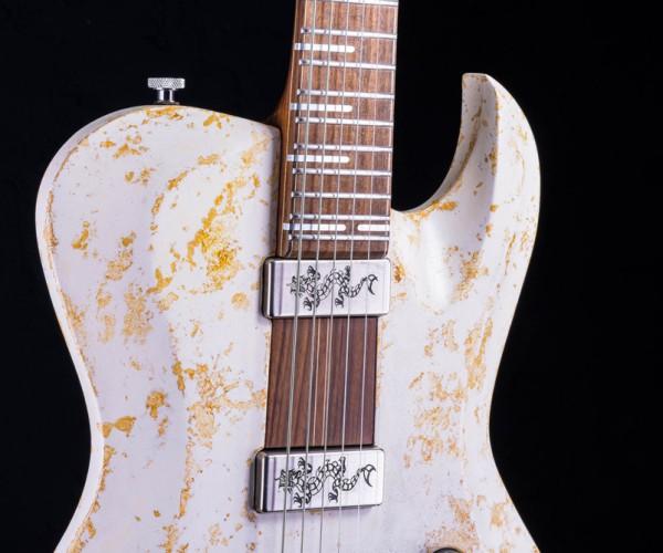 Hellcaster rock guitar - Double Dragon | Cyan Guitars