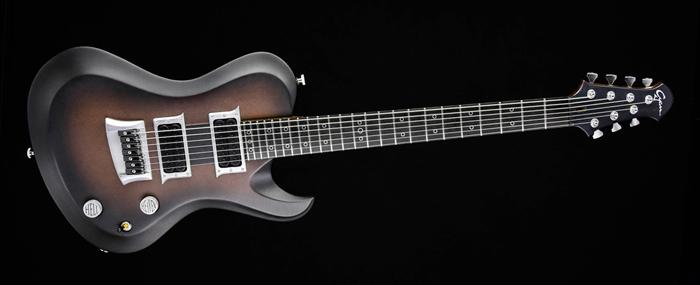 "Hellcaster 7 - 27,6"" Baritone custom made guitar"