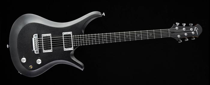 Ultimate V6 - Silver Burst - Metal Custom Guitar