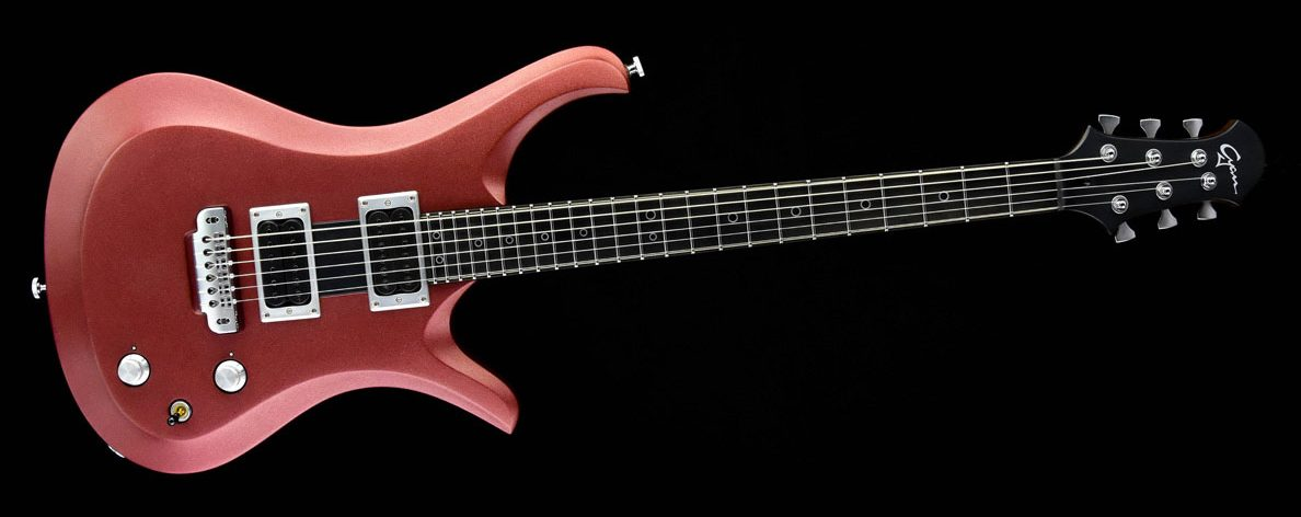 Ultimate - Red Cherry - rock & metal guitar - front view