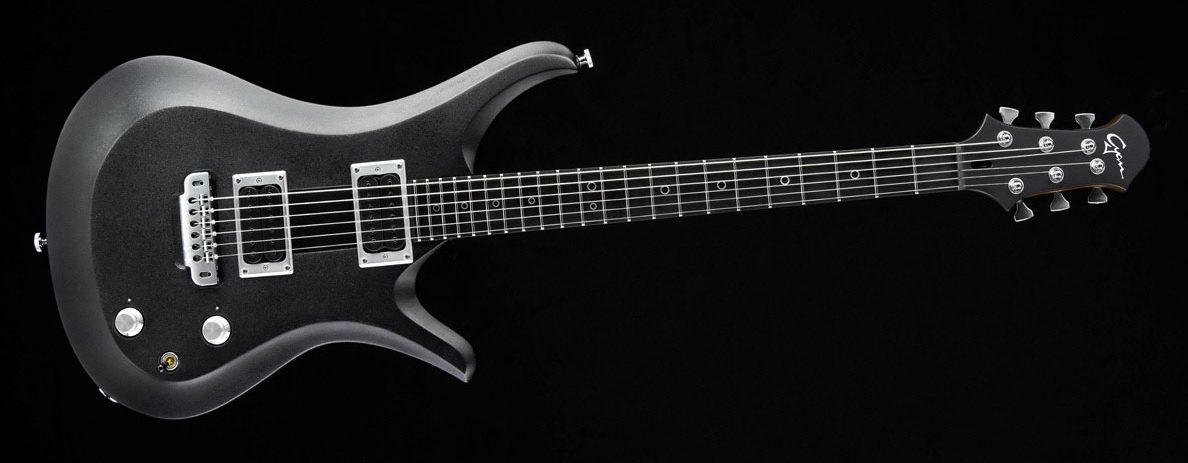 Ultimate - Silver Burst - rock & metal guitar | Cyan Custom Guitar