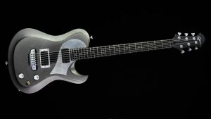 Ultimate - Silver Dragon - rock & metal guitar - front view