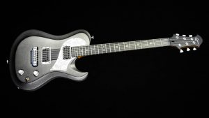 Ultimate - Silver Dragon - rock & metal guitar - front view