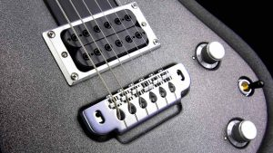 Ultimate - Silver Dragon - rock & metal guitar - bridge