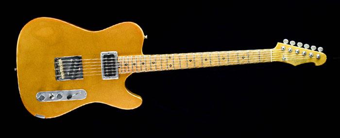 Versatile Golden Eye T-style guitar | Cyan GuitarsVersatile Telecaster Golden Eye | Cyan Guitars