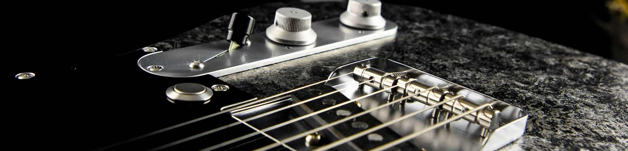Versatile T-style guitar - Cyan Custom Guitars