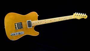 Versatile T-style guitar - Golden Eye - front view