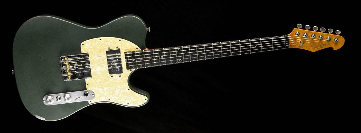 Versatile Telecaster - Green Classic | Cyan Guitars