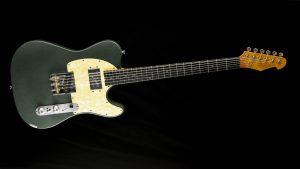 Versatile T-style guitar - Green Classic | Cyan Guitars
