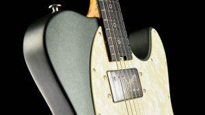 Versatile T-style guitar - Green Classic - Pickup