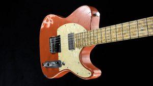 Versatile - Orange Drop - pickguard | Cyan Guitars