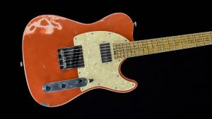 Versatile - T-style guitar - Orange Drop - front view