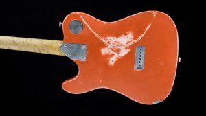 Versatile - T-style guitar - Orange Drop - body shape backside
