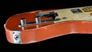 Versatile - T-style guitar - Orange Drop - input jack