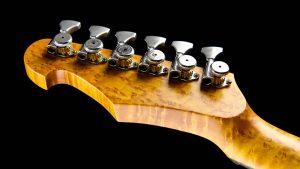 Versatile - Silver Camo - Custom Guitars - tuner