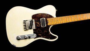 Versatile T-style guitar- Vintage White - Body