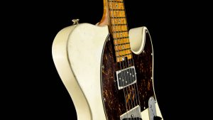 Versatile T-style guitar - Vintage White - pickup