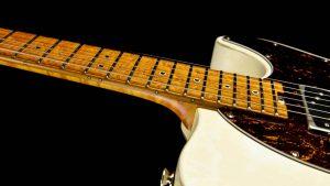 Versatile - Vintage White - Fingerboard