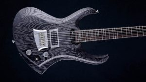 "Zodiac 7 - 30,8"" 7-String guitar baritone - Blackburst (ext. range) - body"