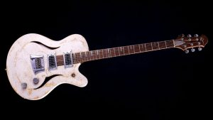 """Breed - 29"""" Baritone guitar - Living Colour - front view"""