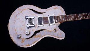 "Breed - 29"" Baritone guitar - Living Colour - Body"