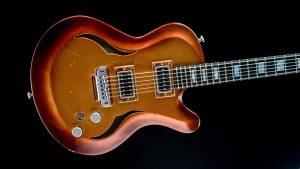 Breed - Golden Age - modern oldschool guitar - body