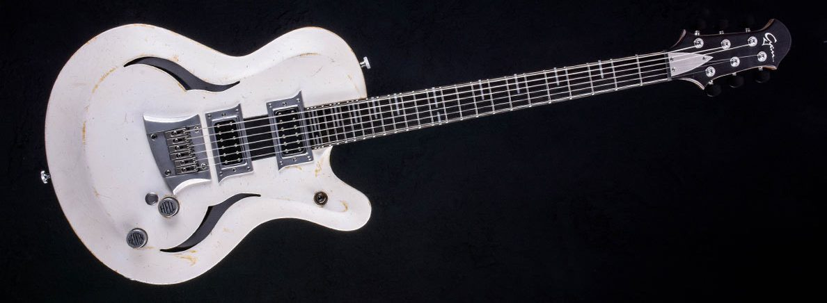Breed - Players White - modern oldschool guitar | Cyan Guitars