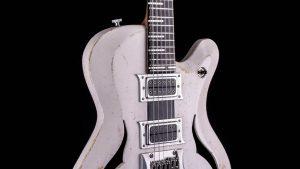 Breed - Players White - modern oldschool guitar - pickguard