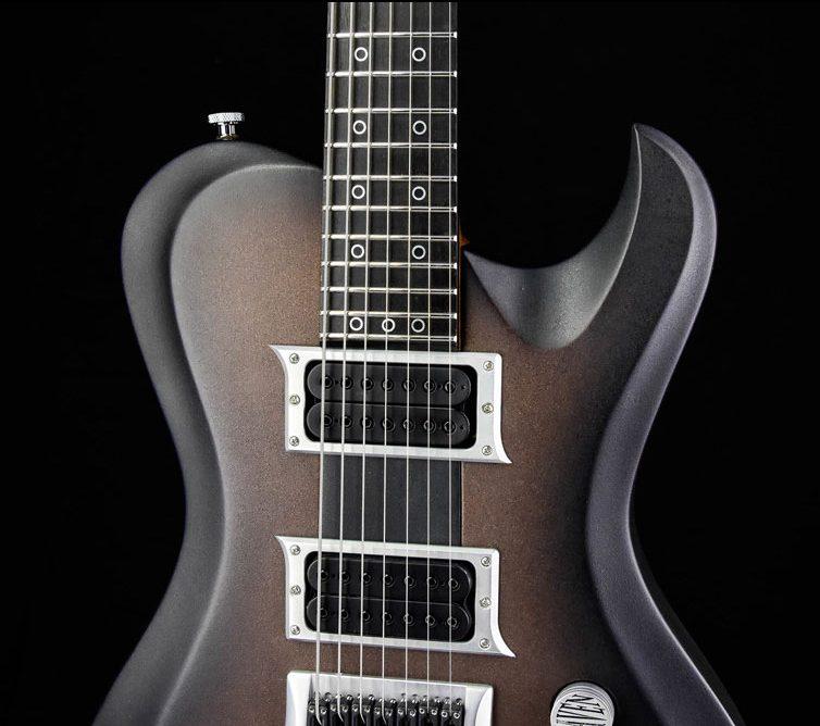 Hellcaster 7-String custom made guitar | Cyan Guitars