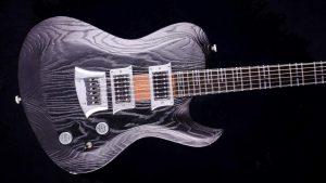 Hellcaster - Baritone guitar - Blackburst - body