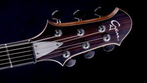 Hellcaster - Custom Guitar - Blackburst - Kopfplatte