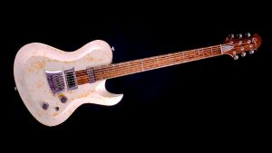 """Hellcaster 29"""" Baritone guitar - Living Colour - front view"""