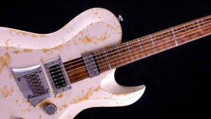"Hellcaster 29"" Baritone guitar - Living Colour - pickguard"