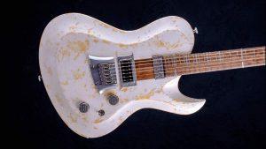 "Hellcaster 29"" Baritone guitar - Living Colour - body"