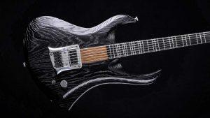 "Zodiac - 29"" Baritone guitar - Blackburst - body"