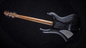 "Zodiac - 29"" Baritone guitar - Blackburst - backside"