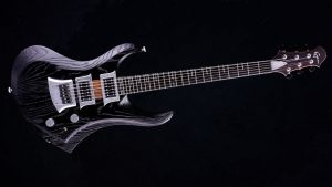 Zodiac - Blackburst - solid body guitar - front view