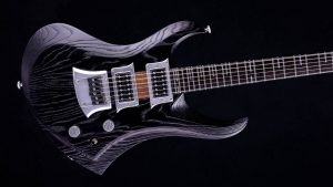 Zodiac - Blackburst - solid body guitar - body
