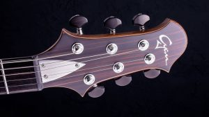 Zodiac - Blackburst - Custom Guitar - headstock