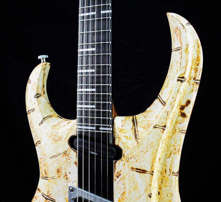 Zodiac - Lucifer - custom made guitar | Cyan Guitars