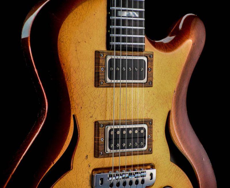 Breed - modern oldschool custom made guitar - Golden Age