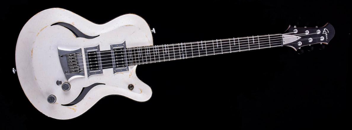 Breed - Players White | Cyan Guitars