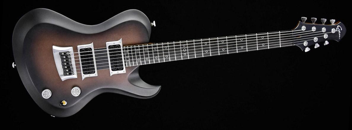 "Hellcaster 7 - 27"" Baritone - Copperfade | Cyan Guitars"
