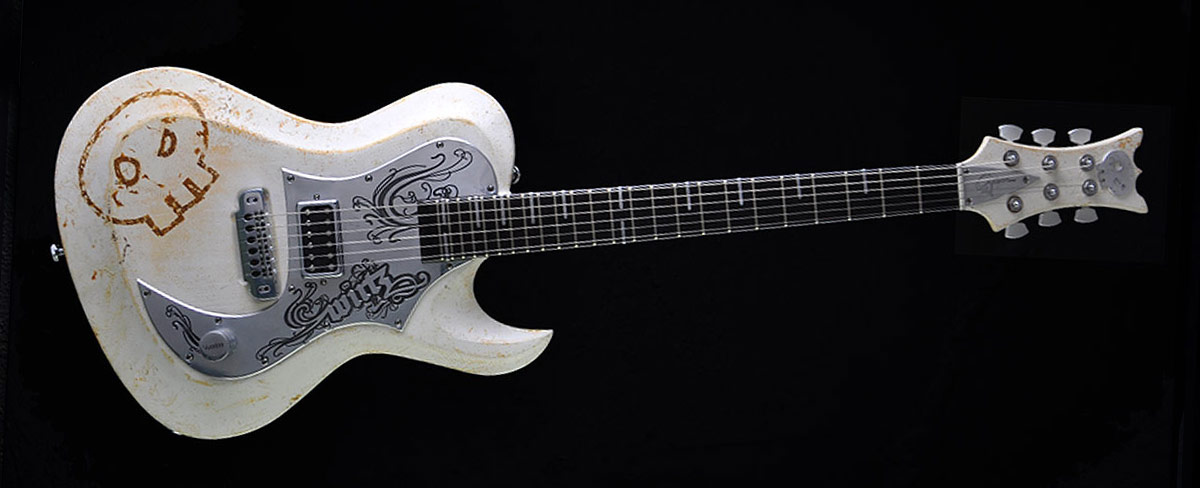 Hellcaster - Akustik Voodoo - Daniel Wirtz - Customized Guitar Gallery