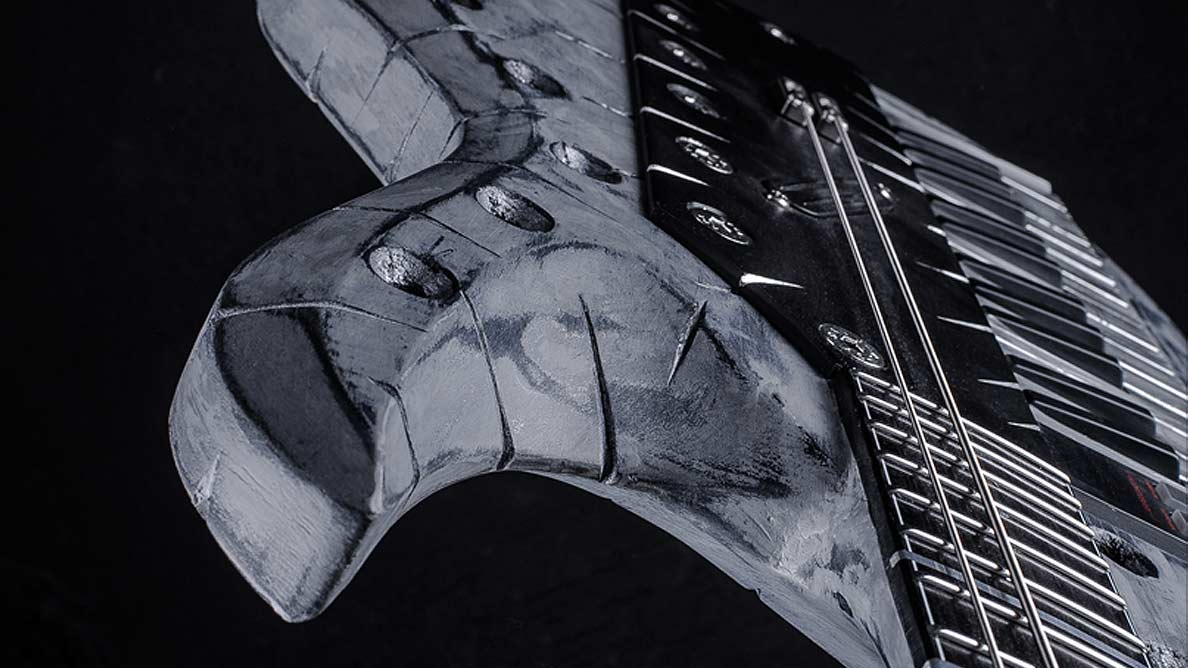 Hellcaster Baritone Keytar NORA - Gared Dirge