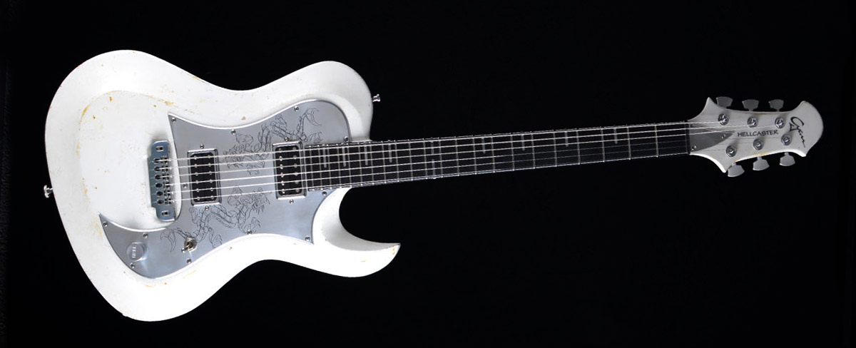 Hellcaster Dragon - Customized Guitar Gallery